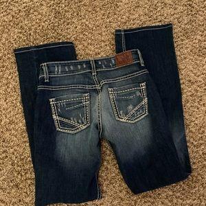 BKE bootcut jeans pants size 27